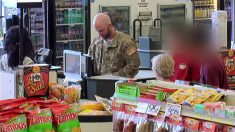 카드 잔액 부족한 군인 본 미국 시민들의 반응