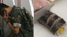 군대 간 아들 보고 싶어 어머니가 직접 싸오셨던 '상한 김밥'