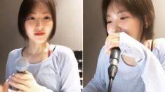 새벽에 잠 못 자는 팬들 위해 즉석에서 2시간 동안 24곡 불러준 가수