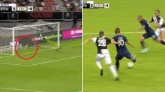 골대도 안 보고 본능적으로 때린 해리 케인의 '하프라인 슛'이 들어가는 순간 (영상)
