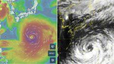 광복절인 내일(15일) 일본 관통하는 태풍 '크로사' 크기 수준