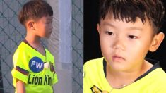 올해 6살 시안이가 친구들이랑 축구하다 처음으로 마주하게 된 감정