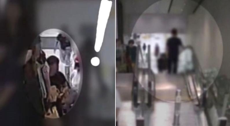 에스컬레이터 올라가다 2년 전 절도범 3초 만에 알아보고 검거한 형사 (영상)