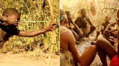 """""""지구 최후의 원시부족"""" 2021년 오늘도 1만년 전이랑 똑같이 살고 있는 '하드자 족'의 비밀"""