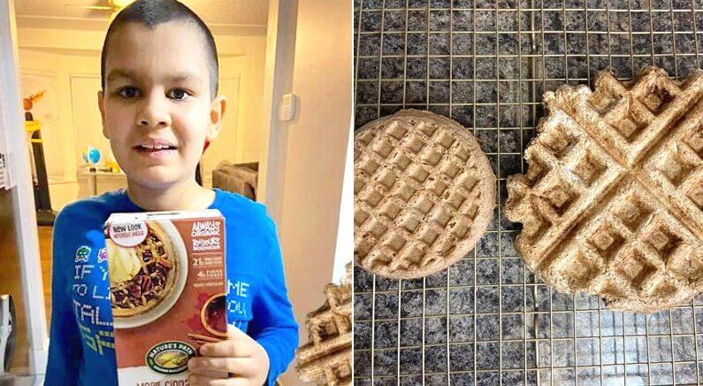 """""""이제는 집에서 해먹을 수 있단다"""" 9살 꼬마 소비자 위해 단종된 과자 '비밀 레시피' 알려준 과자업체"""