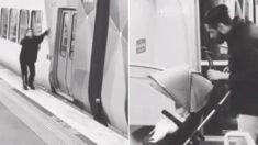 깜빡하고 지하철에 아기 두고 내린 엄마, 맥주병 든 채 유모차에 다가간 청년