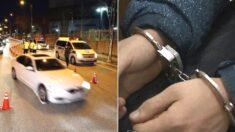 음주운전 하다 교통사고 내고 달아난 경찰관을 시민이 검거했다