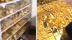 """""""빈센조인 줄"""" 중국 공무원 저택에서 46조원 금괴가 발견됐다"""