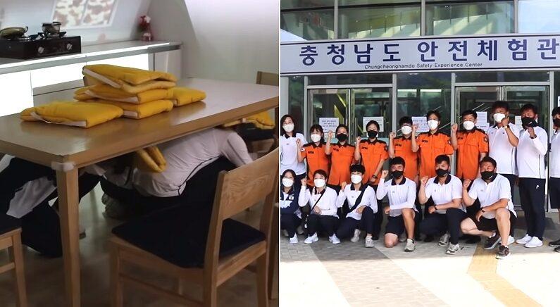 도쿄 올림픽 가기 전 소방관들과 함께 지진 대비하는 재난 훈련까지 받은 양궁팀