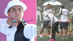 도쿄에 태풍 온다는데 오히려 은근히 반기는 중인(?) '진짜 광기' 한국 양궁팀 근황