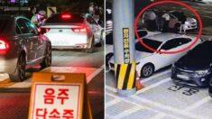 음주 단속하다 '고열+호흡곤란' 환자 발견하고 병원까지 직접 데려다 준 경찰