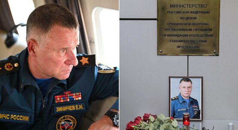 절벽에 떨어진 영화감독 구하려고 제일 먼저 뛰어들었다가 숨진 러시아 장관